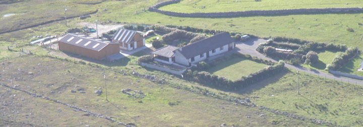 House, garden and cattle/store buildings – Brue Highlanders